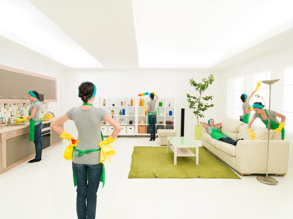 bi weekly house cleaning